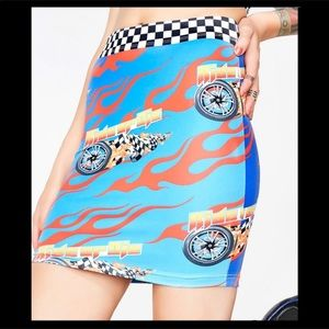 Dolls Kill Current Mood Ride or Die Chick Skirt